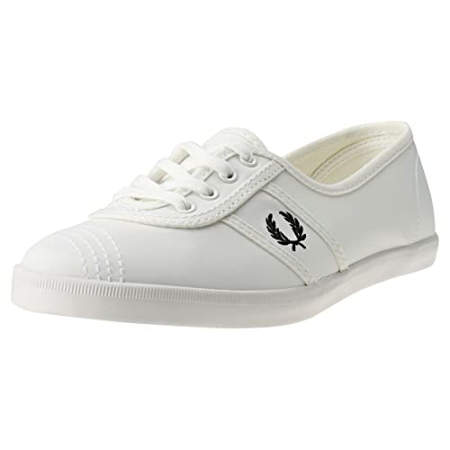 e5bcf5a5bd Fred Perry Aubrey Poly Womens Trainers  Amazon.co.uk  Shoes   Bags