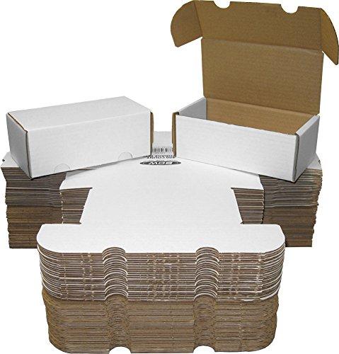 BCW 400 Count-(50) BOX LOT Corrugated Cardboard Storage Box - Baseball, Football, Basketball, and Hockey (Ebay Baseball Cards)