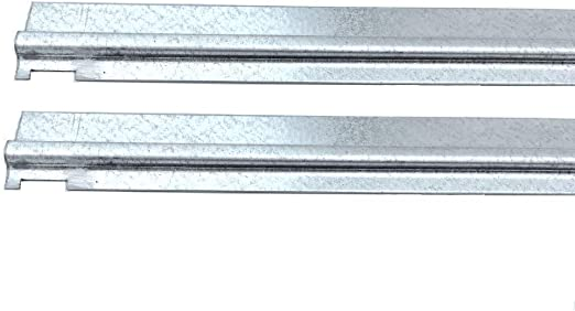 """Hon Double Cross Rails for 42/"""" Wide Lateral Files Gray 2 Rails HON919492"""