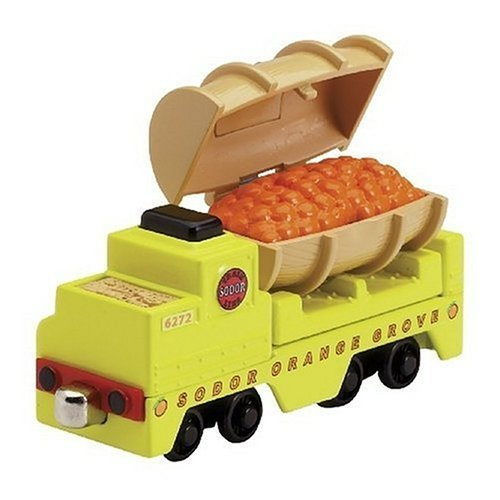 RC2 / Learning Curve Take Along Thomas Scented Orange Barrel Car by Learning Curve