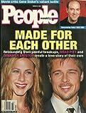 Jennifer Aniston and Brad Pitt, Gene Siskel, Roberto Benigni - March 8, 1999 People Weekly Magazine