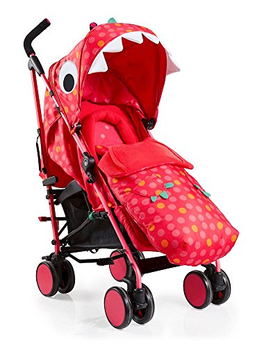 Cosatto Supa 2018 Baby Stroller, Suitable from Birth to 25 kg, Miss Dinomite