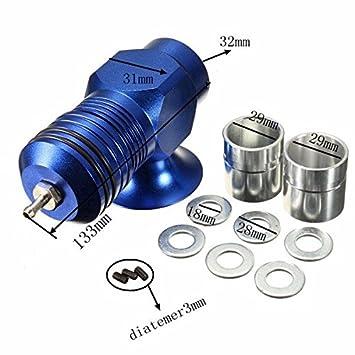 Yongse Válvula de escape Bov cargador de Turbo Boost de 30 psi Azul Tipo H-Rfl aluminio: Amazon.es: Coche y moto