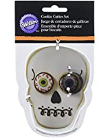 Wilton 2308-2013 Skull with Eyeball Cutter Set, Assorted
