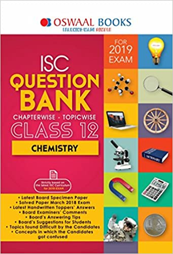 Amazon in: Buy Oswaal ISC Question Bank Class 12 Chemistry