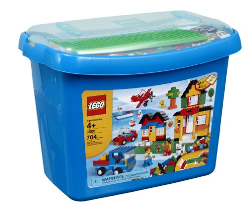Amazon.com: LEGO Bricks & More Deluxe Brick Box #5508 (704 pieces ...
