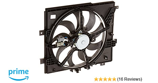 Amazon.com: TYC 622770 Nissan Versa Replacement Cooling Fan Assembly: Automotive