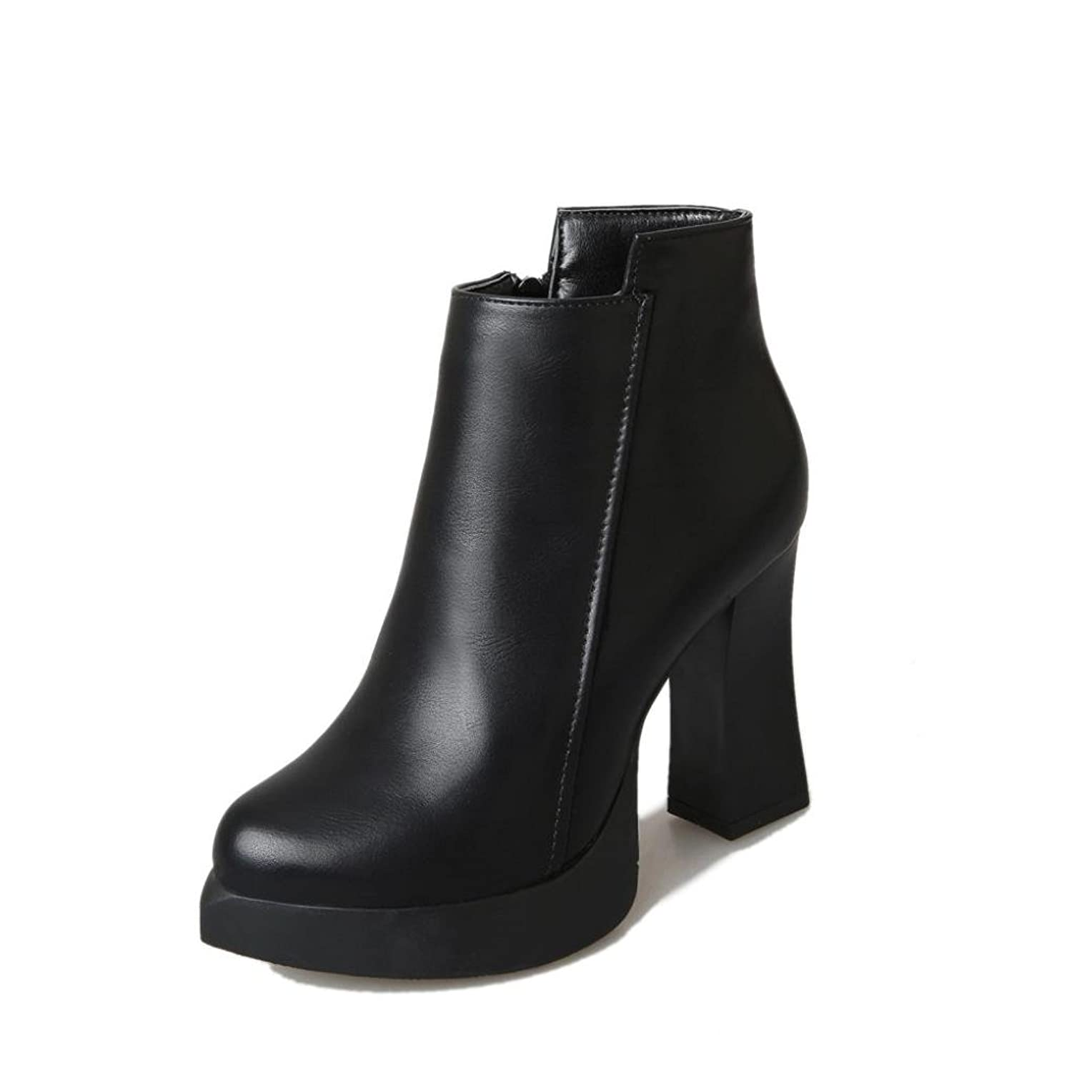 ☆ ▷ ♤ PrettyWinter High Heel Short Martin Boots