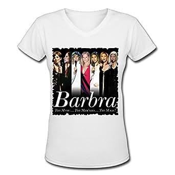 Amazon.com: Barbra Streisand Tour 2016 Fashion V Neck T ...