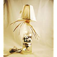 Classy Vodka Table Lamp. Crafted From A Recycled Grey Goose Vodka Bottle. Shipping is included.