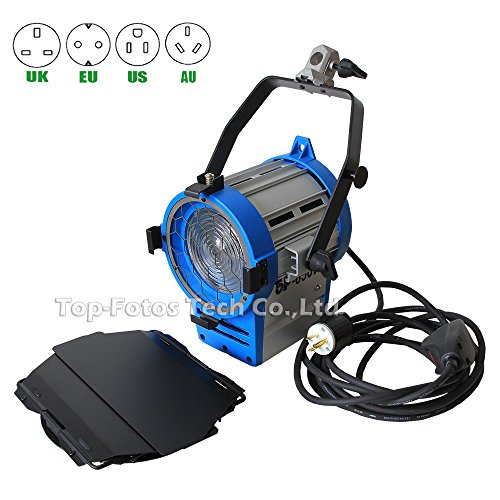 Top-Fotos product upgrade! Fresnel 650W continuous lighting tungsten spotlight 5M cable fo shoot video studio