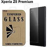 Xperia Z5 Premium 【背面】 ガラスフィルム docomo SO-03H SONY エクスペリアz5プレミアム 液晶保護 透明 国産強化ガラス ラウンドエッジ加工 Tempered Glass Film 背面 クリア [EXMO,Inc.] EX-XPZ5pr-BACK-CL