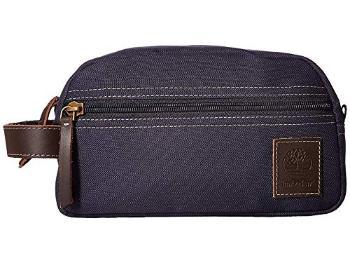 Timberland Mens Canvas - Timberland Men's Canvas Travel Kit Navy 1 One Size