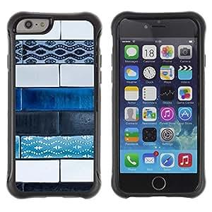 LASTONE PHONE CASE / Suave Silicona Caso Carcasa de Caucho Funda para Apple Iphone 6 / Art Paint Street Hand Made