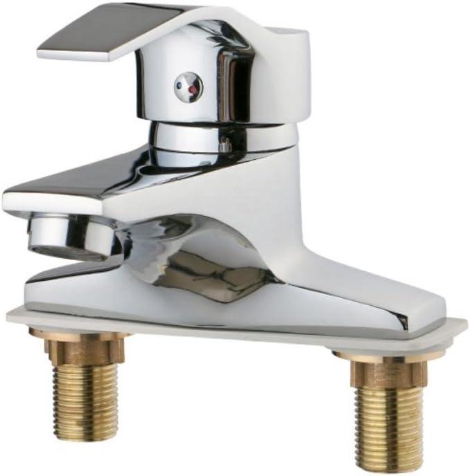 handle 2 holes Bathroom Sink Faucet