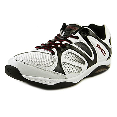 And1 Duncan Men US 10.5 White Basketball Shoe