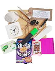 Harrison's Gifts Student Starter Pack, Fresher Survival Kit, containing all the esssentials for any student! Ideal present for those returning to university after the holidays.