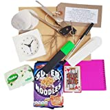 Student Starter Pack, Fresher Survival Kit, containing all the esssentials. Perfect gift for any student! Ideal present for those returning to university after the holidays.