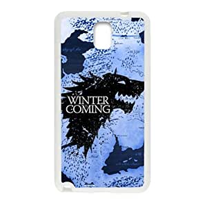 HDSAO Winter coming map Cell Phone Case for Samsung Galaxy Note3