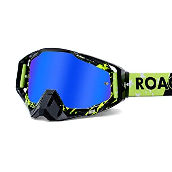 H-MetHlonsy Gafas de Motocicleta ATV Casco para Esquiar ...