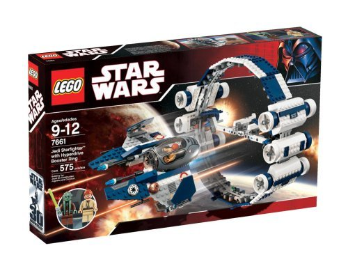 Lego Star Wars Jedi Starfighter with Hyperdrive Booster Ring 7661 [parallel import goods]