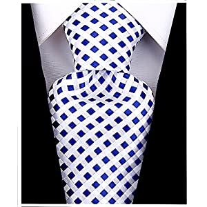 Checkerboard Ties for Men – Woven Necktie – Mens Ties Neck Tie by Scott Allan