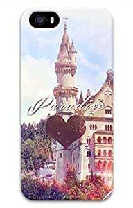 Retro Building Cover Case Skin for iPhone 5 5S Hard PC 3D