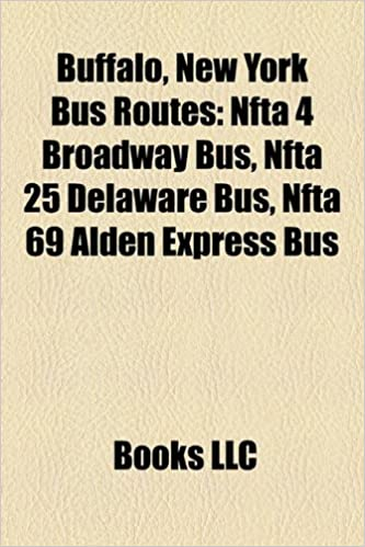 Buffalo New York Bus Routes Paperback Import