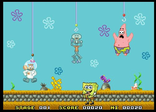 Tv Games Plug Into : Jakks spongebob squarepants tv game buy online in uae