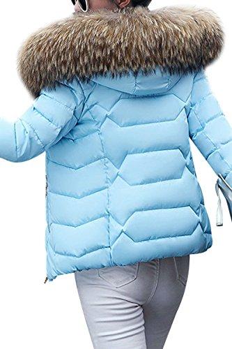 Manteau Femme Court YMING Jacket Veste Hiver Rfdnx5pqH
