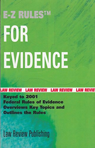 rules of evidence summary Allows the contents of voluminous writings, recordings, or photographs to be presented in the form of a chart, summary, or calculation for the sake of convenience =article xi: miscellaneous rules= - sets forth provisions governing applicability of the federal rules of evidence.