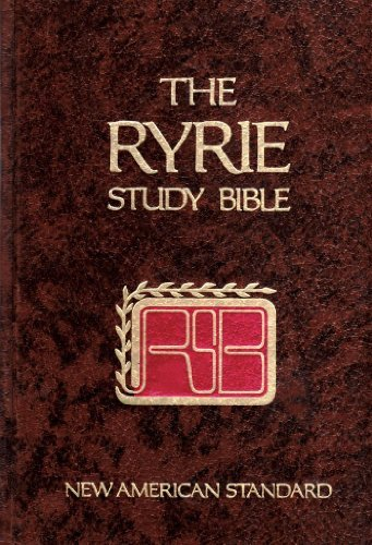 (Ryrie Study Bible (NEW AMERICAN STANDARD))