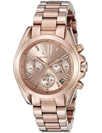 Michael Kors Women's Bradshaw MK5799 Rose-Gold Stainless-Steel Analog Quartz Watch