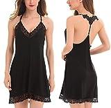 ADORNEVE Sexy Lingerie Women's Sleepwear Chemise Nightgown