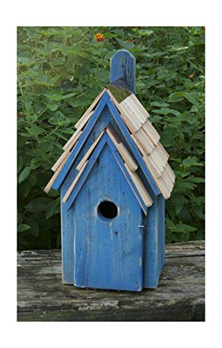 Heartwood Bluebird Manor Bird House in Blue Finish ()