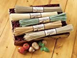 Five Pasta Gift Box Featuring All-Natural Angel Hair, Linguini and Fettuccini