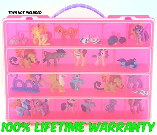 Life Made Better Toy Storage Organizer. Fits Up to 30 Figures. Compatible (Ice Age Booster Box)