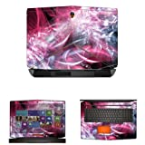 Decalrus MATTE Protective Decal Skin Sticker for Alienware 18 with 18in Screen (IMPORTANT: To get correct skin for your device MUST view IDENTIFY image) case cover MAT13ALIENWARE18-202