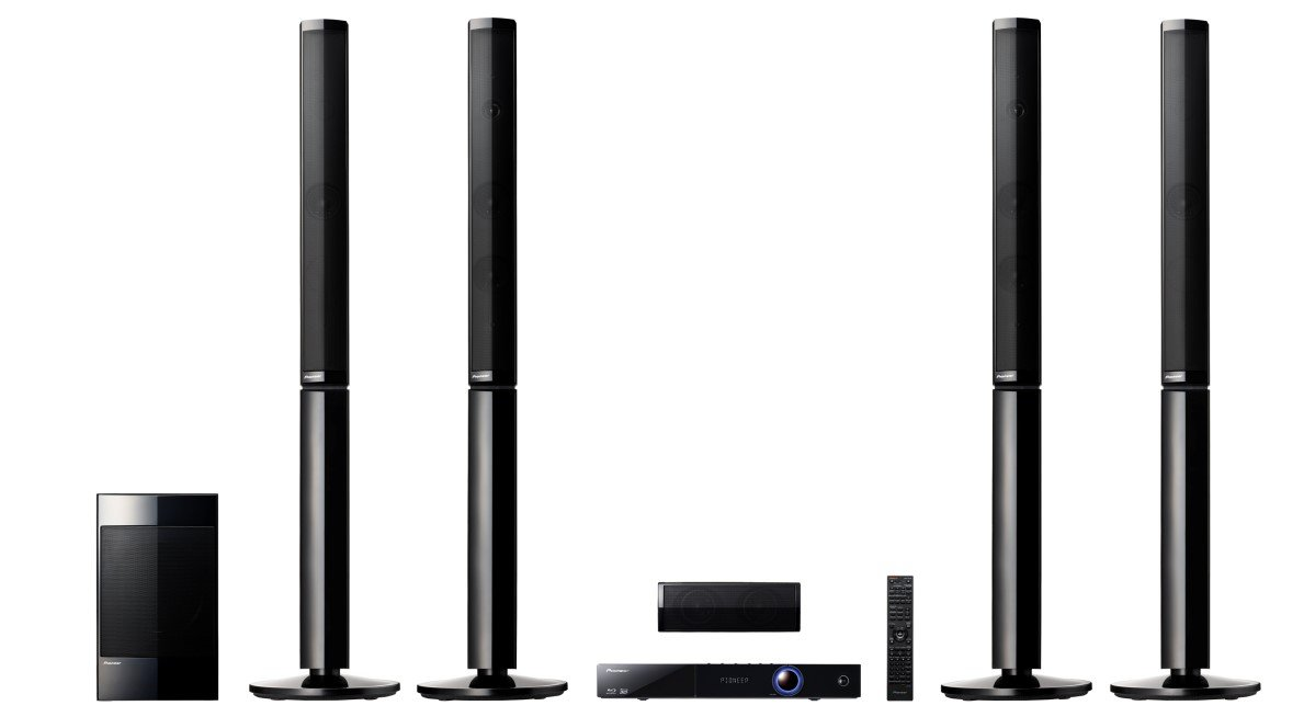 Pioneer Htz-828bd 5.1 3d Region Free Bluray Home Theater System for 110-240 Volts by Pioneer