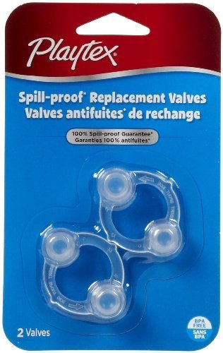 - Playtex Spill-Proof Cup Replacement Valves - Two packs of two
