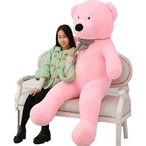 Valentine day Gifts New Year Stuffed Animals Gian Big Teddy Bears 100cm giant teddy bear plush toys big stuffed hot toys brinquedos factory price By Gangnumsky