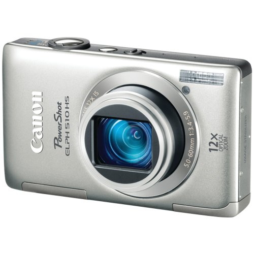 Canon PowerShot Digital Camera Silver