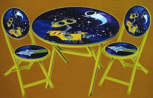 Disney Pixar Wall-E 3PC Table and Chair Set