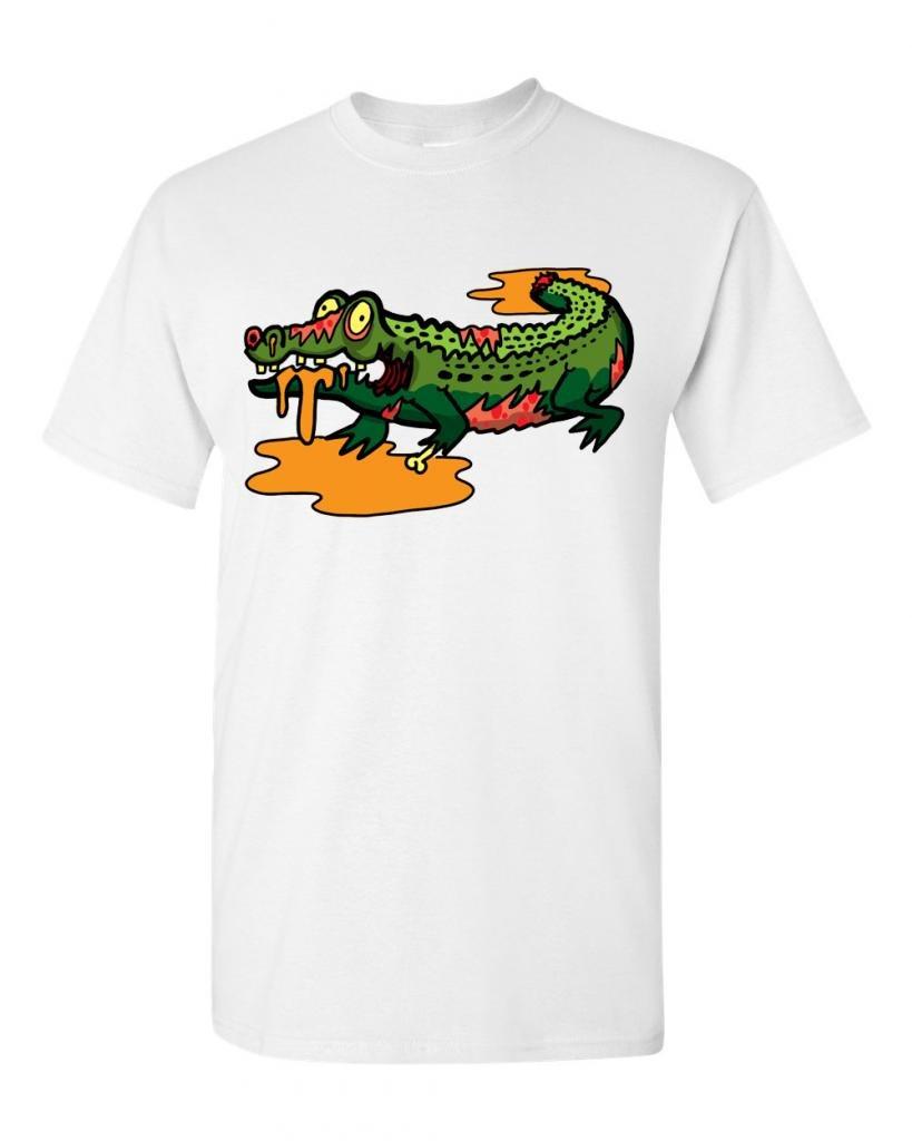 Zombie Alligator Undead Animals Adult Dt 1652 Shirts