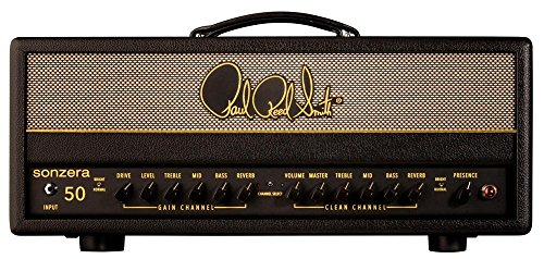 50w Tube Guitar Head (PRS Sonzera 50 50W Tube Guitar Amplifier Head Black)