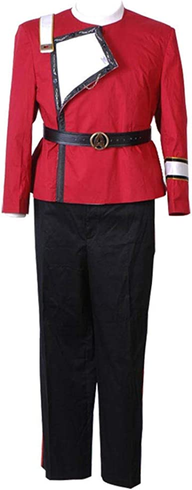TWOK II-VI Star Wrath of Khan Uniform Costume Star fleet halloween outfit