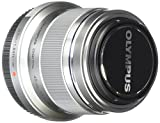 Olympus M. Zuiko Digital ED 45mm f1.8 (Silver) Lens for Olympus and Panasonic Micro 4/3 Cameras