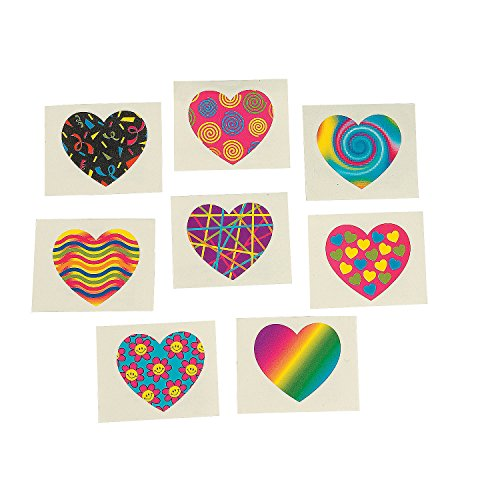 Nice Funky Heart Tattoos (72 pieces) hot sale EeQNWnNO