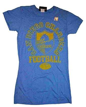 Amazon Com Junkfood San Diego Chargers Tee Clothing