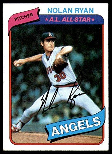 California Angels 1980 (Baseball MLB 1980 Topps #580 Nolan Ryan Excellent Angels)